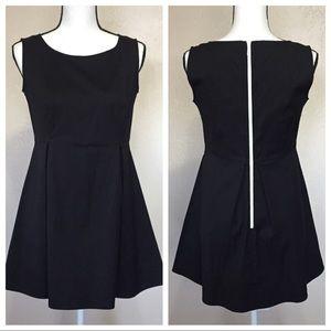 Lafayette 148 Black Mini Dress
